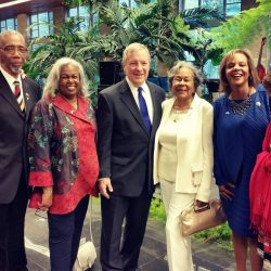 Cheri strongly supports normalizing relationships with Cuba to benefit Illinois' agriculture economy, and joined President Obama on his trip to Cuba in March. Pictured here with the other Illinois delegates and the family of Jackie Robinson, Cheri used the trip as an opportunity to explore developing commerce and agricultural relationships between Illinois and Cuba.